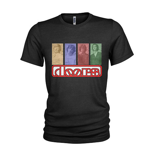The Doors Jim Morrison retro 1960's music icons T-shirt