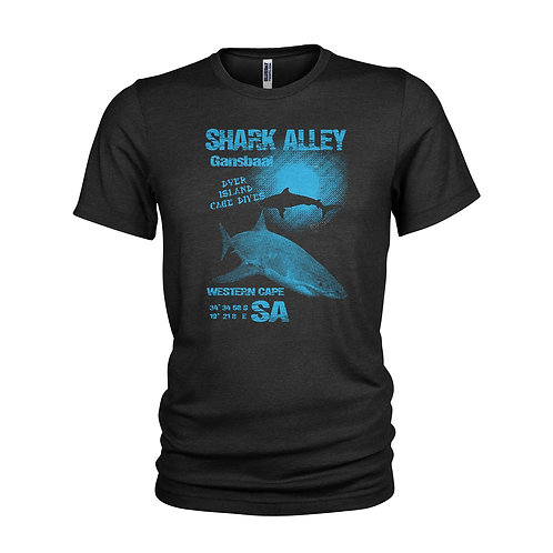 Gansbaii Dyer Island Great White Shark cage diving T-shirt