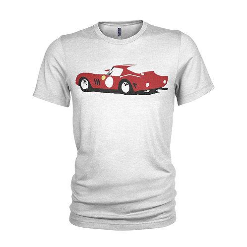 Ferrari 250 GTO Le Mans legendary track star T-shirt