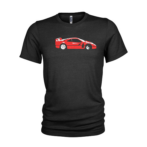 Ferrari F40 Road legend & supercar inspired T-shirt