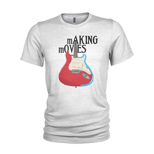 Dire Straits inspired Mark Knopfler Making Movies retro T-shirt
