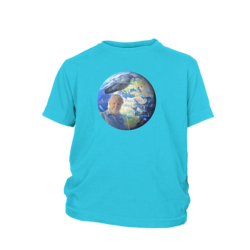 KIDS - DAVID ATTENBOROUGH - Blue Planet II - Planet Earth - TV Legend T-shirt