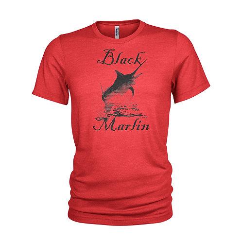 Black Marlin - Indian Ocean Billfish - SCUBA & FISHING T-shirt