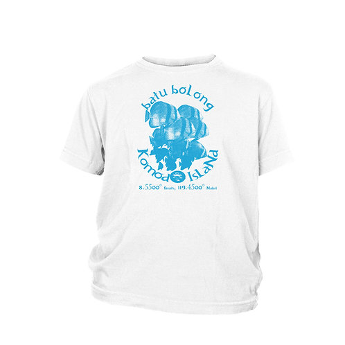 KIDS - BATU BOLONG - Komodo Island top ten scuba dive site T-shirt