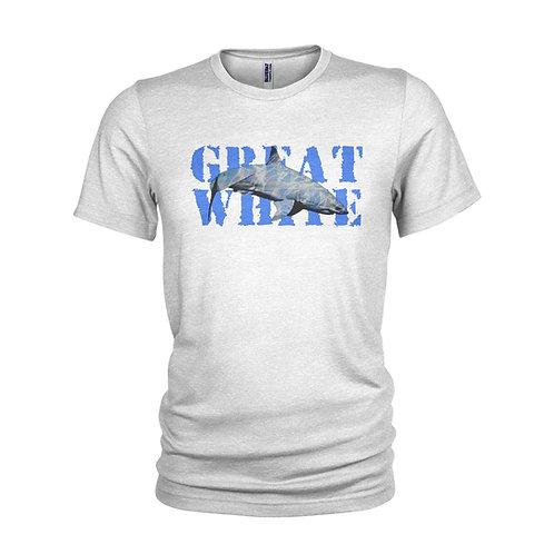 Great White Shark scuba diving ocean & beach holiday T-shirt
