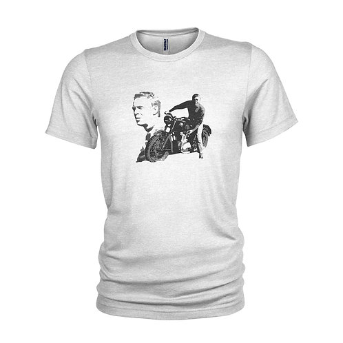 Steve McQueen - The Great Escape movie T-shirt