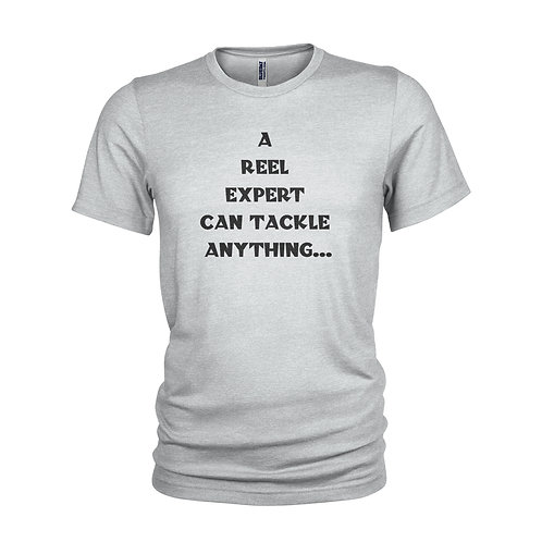 Fishing - A reel expert funny fishing T-shirt