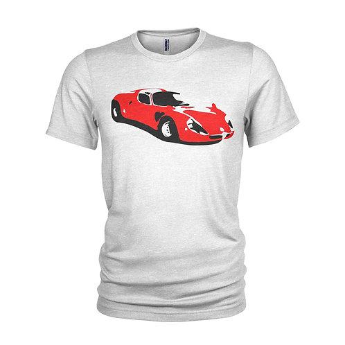 Alfa Romeo 33 Stradale  RED - Beautiful road racer classic car T-shirt