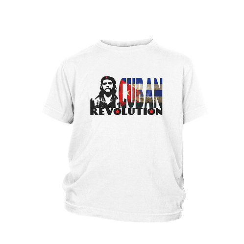 KIDS - Che Guevara  Cuban Revolution beach and holiday T-shirt