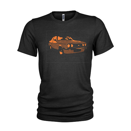 Ford Escort RS 2000 orange Road legend T-shirt