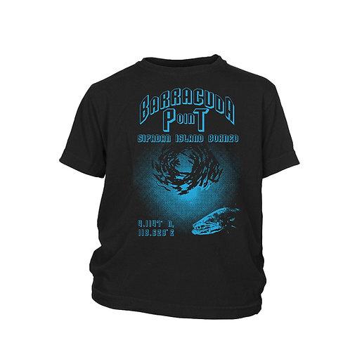 KIDS - BARRACUDA POINT Sipadan Top ten scuba dive sites Scuba T-shirt