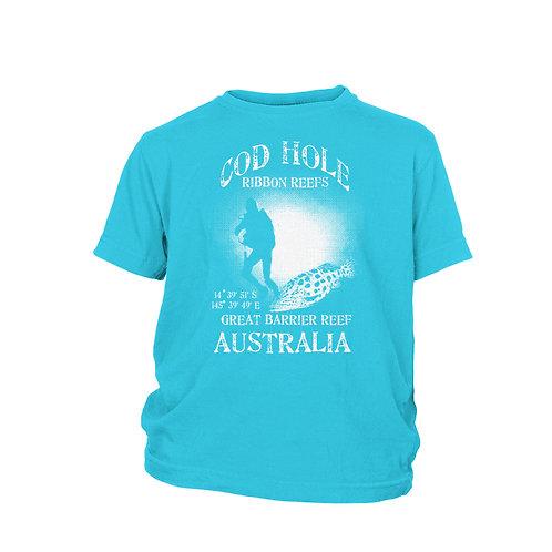 KIDS - Cod Hole AUSTRALIA - Great Barrier Reef scuba dive site T-Shirt