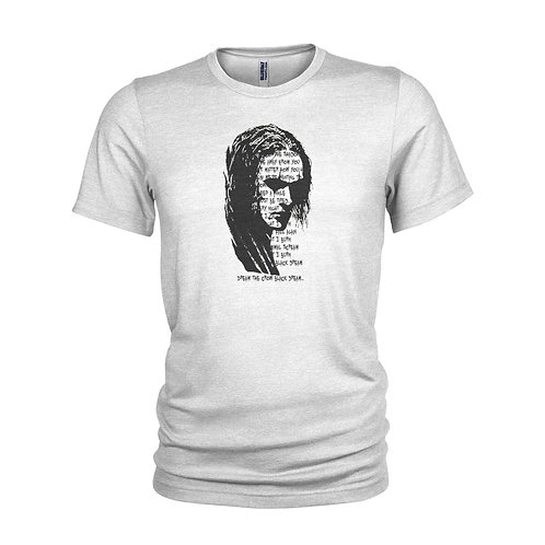 The Crow - inspired Burn by The Cure - Cool cult film lyric T-Shirt