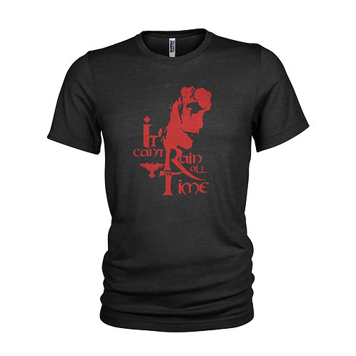 "The Crow - ""Can't rain all the time"" Film quote T-shirt"
