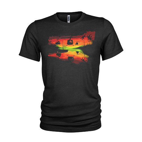 Apocalypse Now - Ride of the Valkyries Huey helicopter charge T-shirt