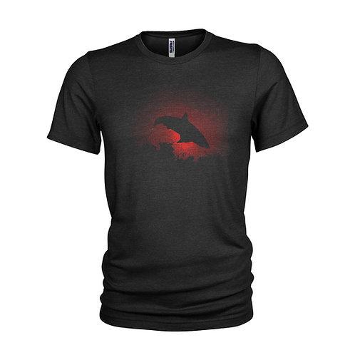 Great White Shark Dawn Breach - Super cool shark attack at dawnT-Shirt