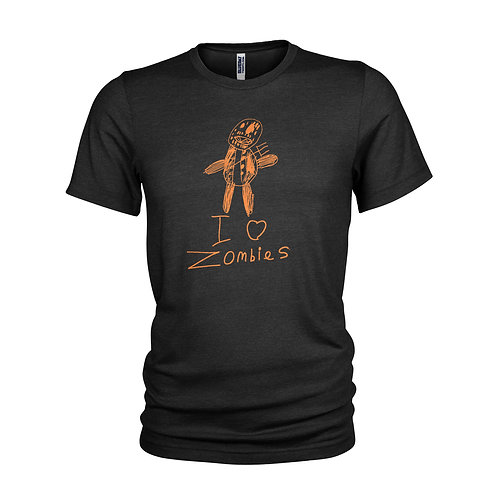 Resident Evil Zombie horror monster scary kids drawing T-shirt