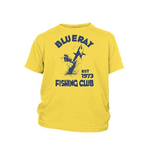 KIDS - Blue Ray deep sea sports Fishing Club vintage beach T-shirt