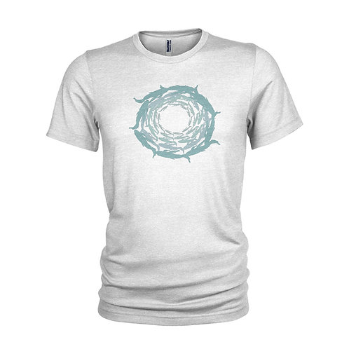 Shoal of fish diving T-shirt