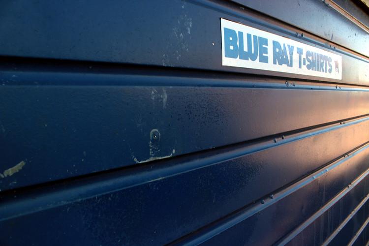 Blue Ray Sunrise - New day starts