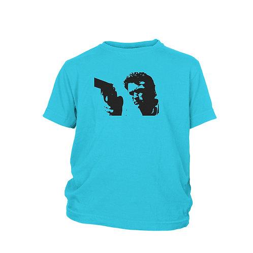 "KIDS - Clint Eastwood ""DIRTY HARRY"" .44 Magnum film T-Shirt"