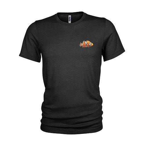 """Clownfish logo Scuba diving """"NEMO"""" T-shirt"""