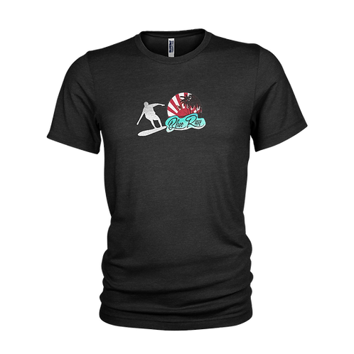 Blue Ray Surf & the Silver Surfer - Retro Surf style beach T-Shirt.