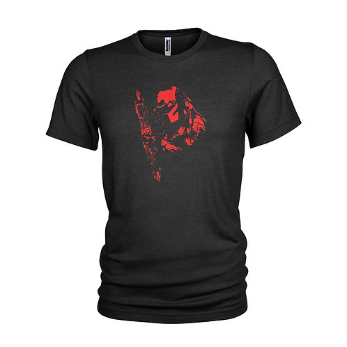 PREDATOR - COMBISTICK - Telescopic spear & weapon of choice T-shirt