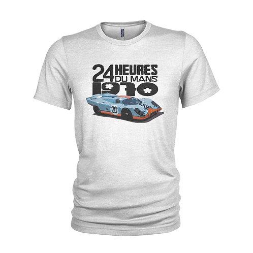 Porsche 917 Le Mans 24 Hour 1970 winner iconic race car t-shirt