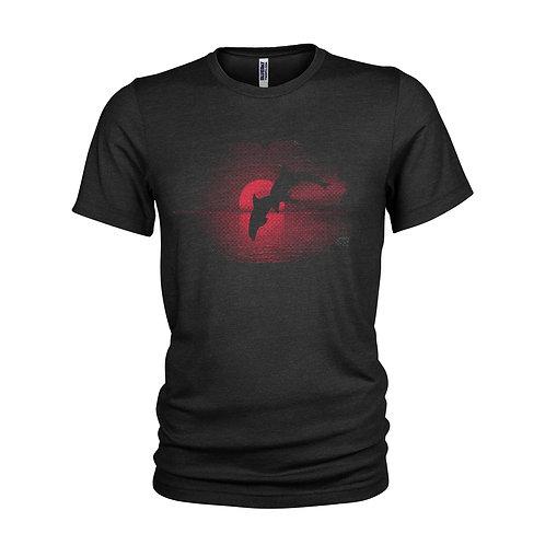 Dolphin Sunset Bottlenose Dolphin sunset scuba beach T-shirt