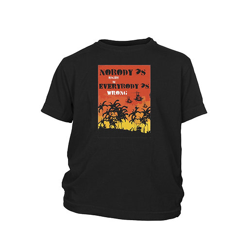 KIDS - Buffalo Springfield - For what it's worth' music inspired protest T-shir