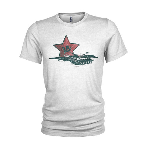 Russian Red Star / Tanks Military T-shirt