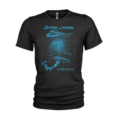 Brother Island Red Sea Scuba dive site T-shirt