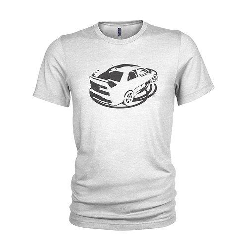 Mitsubishi EVO classic road racer T-shirt