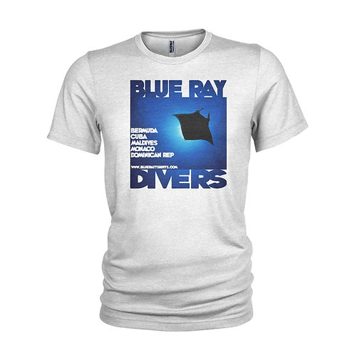 Blue Ray Divers - Retro beach & holiday SCUBA DIVING T-shirt