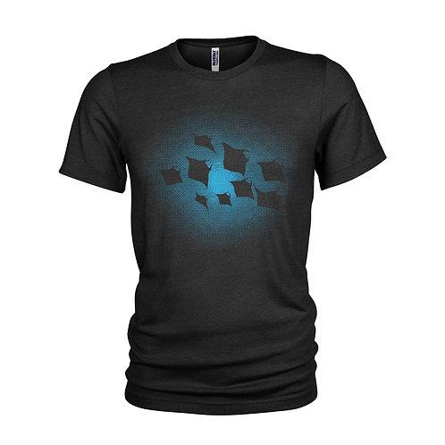 Ocean Manta Ray Night Shoal scuba diving T-Shirt