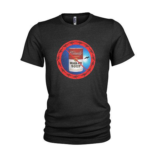 Anti Shark Fin Soup protest T-shirt