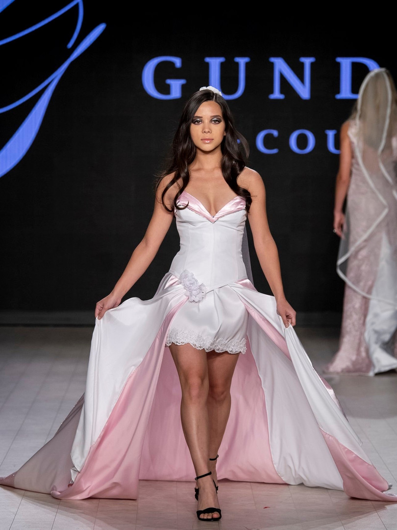 Walking for Gundula Couture