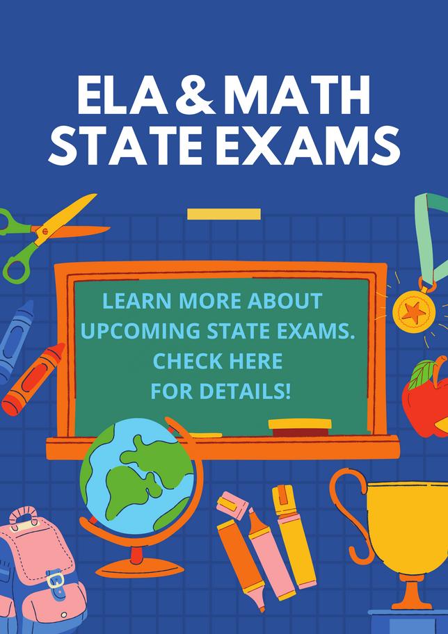 State ELA and Math Exams