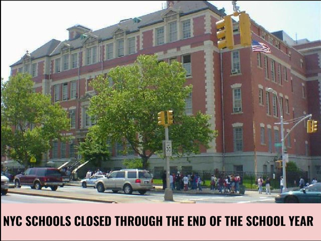 Mayor announces NYC schools closed through the end of the year