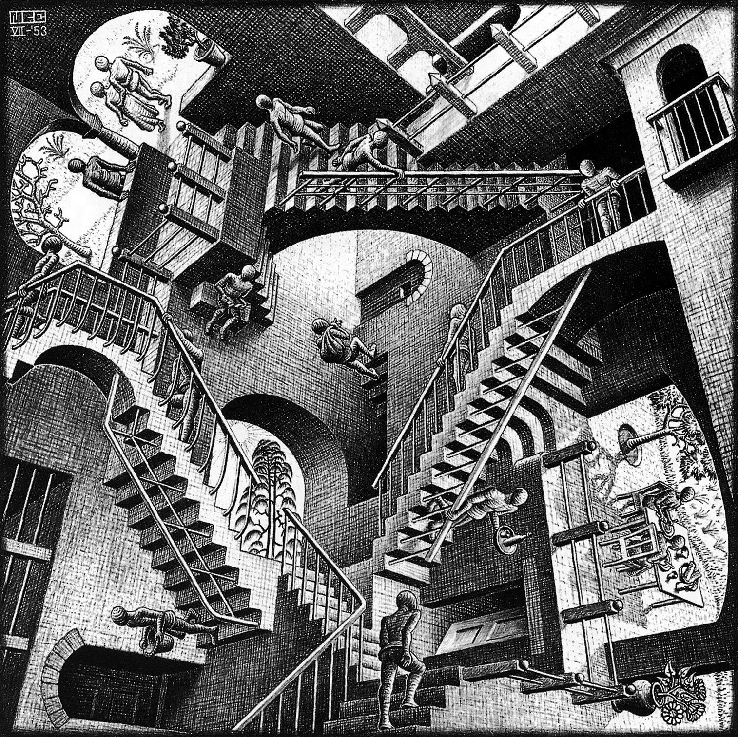Relatividade - Escher