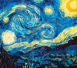 A Noite Estrelada - Vincent Van Gogh