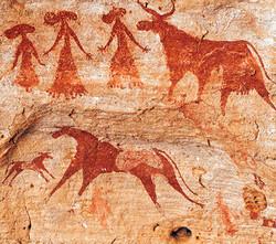 Arte rupestre - Ennedi Plateau-Chade