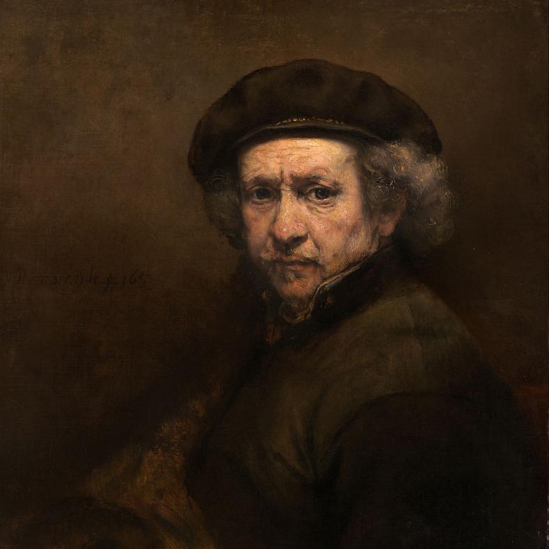 Auto retrato - Rembrandt Van Rijn