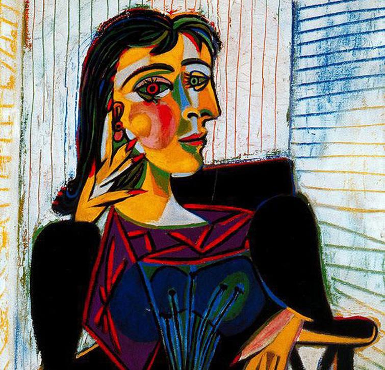 Retrato de Dora Maar - Pablo Picasso
