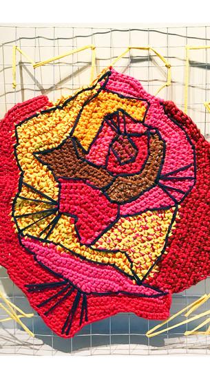 Série: Meu Jardim, Rosa