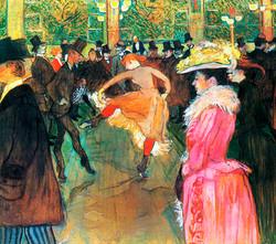 Molin Rouge - Toulouse-Lautrec