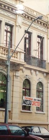 Antiga sede da Escola de Música e Belas Artes do Paraná