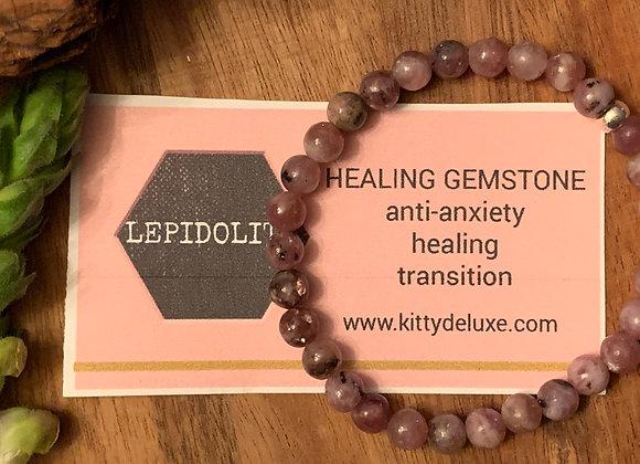 Lepidolite Bracelet 002