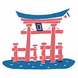 【中国】厳島神社